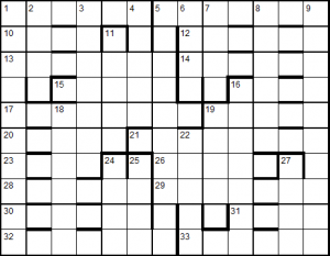 Empty grid for solution